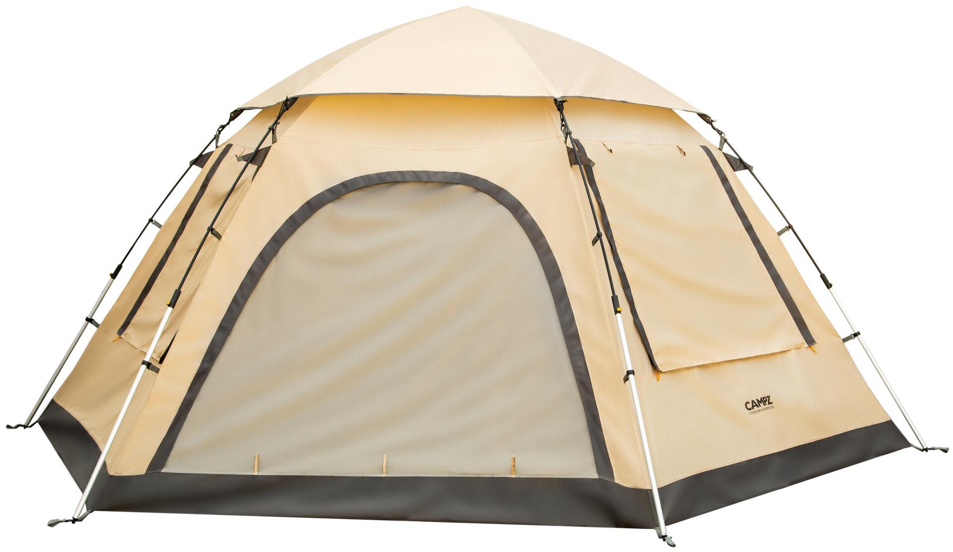 CAMPZ Piemonte 3P Telt, beigegrey | Find outdoortøj, sko